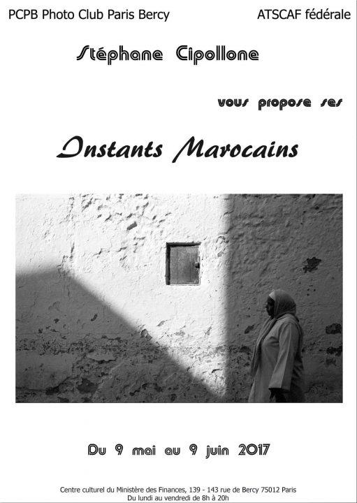 Affiche-exposition-INSTANTS-MAROCAINS-par-Stéphane-CIPOLLONE