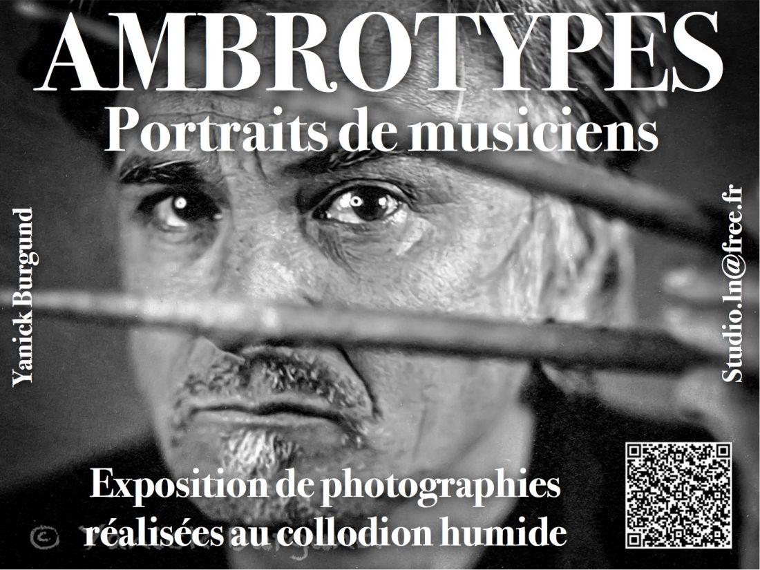 Affiche1-Expo Ambrotypes-Yanick BURGUND